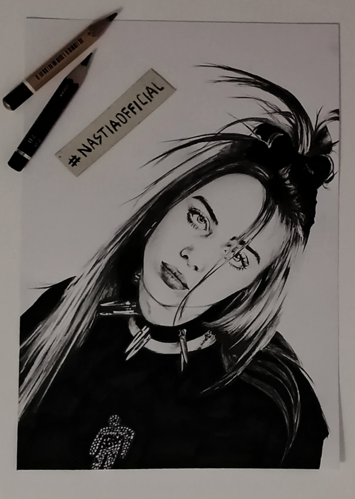 Billie Eilish by nastiaofficial